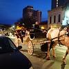 Blue Hour Carriage Ride, 6th Street - Austin, Texas