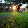 Evening Light, Seaholm Pump House - Austin, Texas