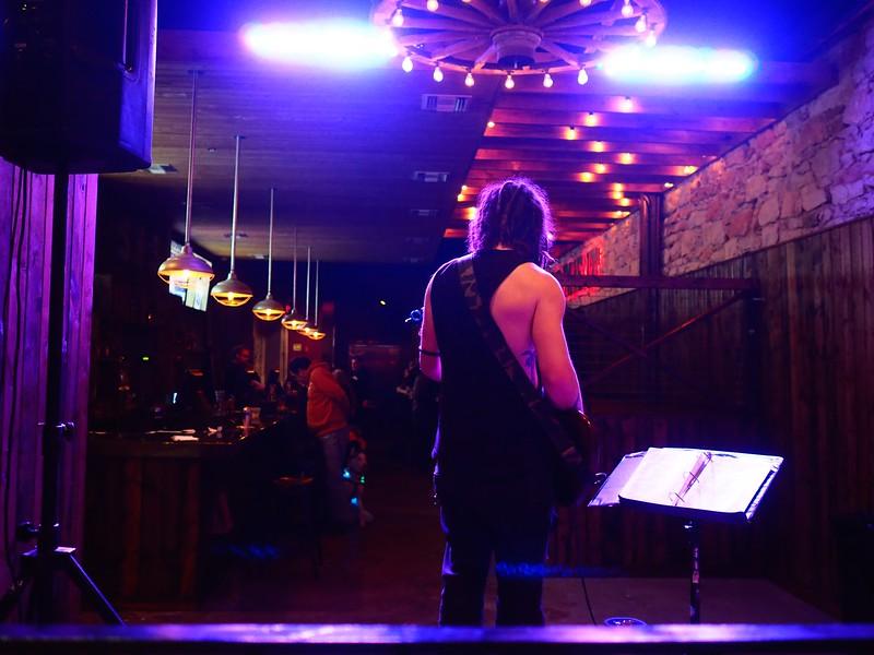 On Stage Alone #1, 6th Street - Austin, Texas
