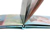 Photo Book - #110 semi-gloss hinged paper can also be UV coated