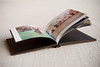 5x5 Press Printed Photo Book - standard paper lays pages magazine style