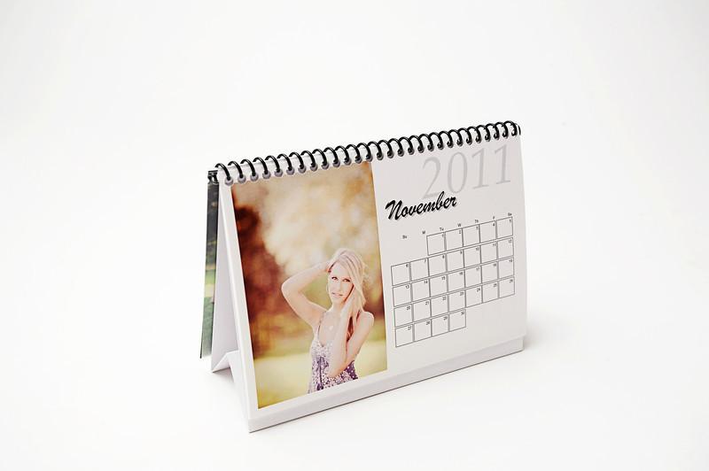 Tented Desk Calendar
