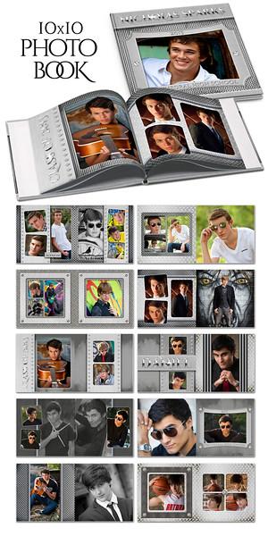 8x8 10x10 12x12 Steel Mate Book