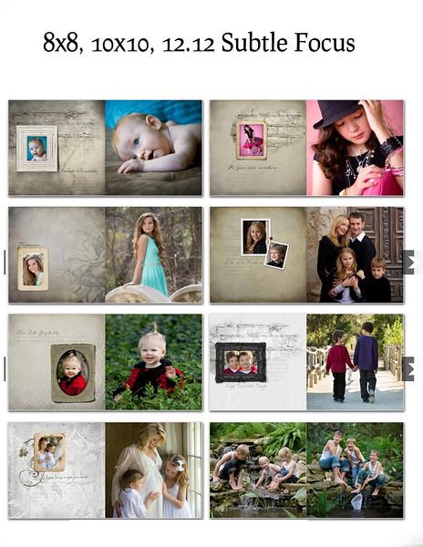 8x8 10x10 12x12 Suble Focus Book