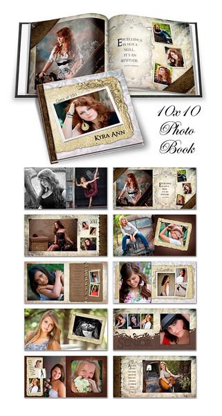 8x8 10x10 12x12 Kyra Ann Book