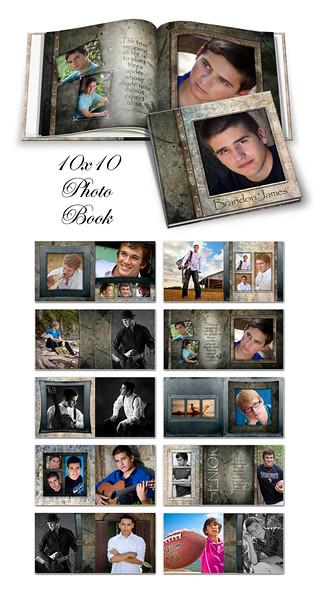8x8 10x10 12x12 Granite Book