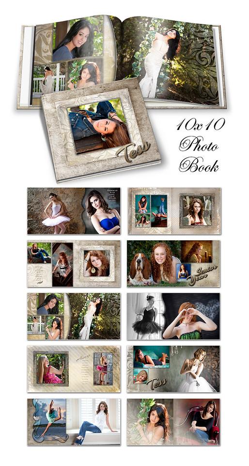 8x8 10x10 12x12 Tess Book