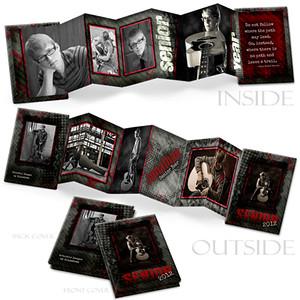 3x3 Elite Mini Accordian Book