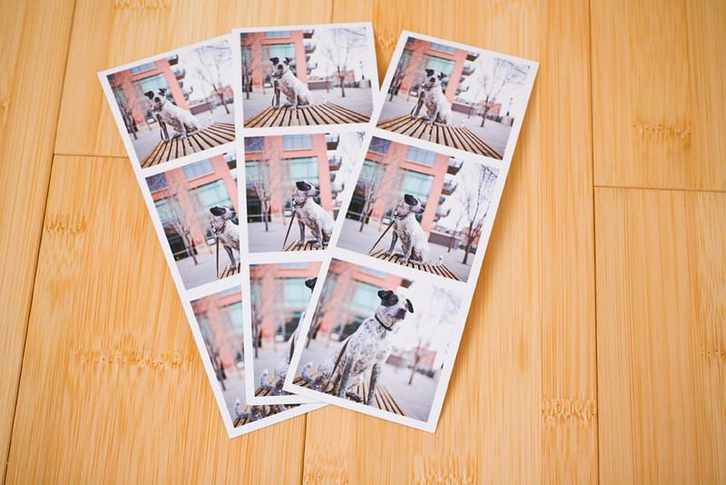 Photo Booth Strips:  Another fun print size for showing off your great images: Photo Booth Filmstrips!  Looks just like the ones we get from photo booths and are perfect for the fridge, scrapbooks, and giving to family and friends!  Filmstrip size: 2×6 and the images are 1.8x1.8.