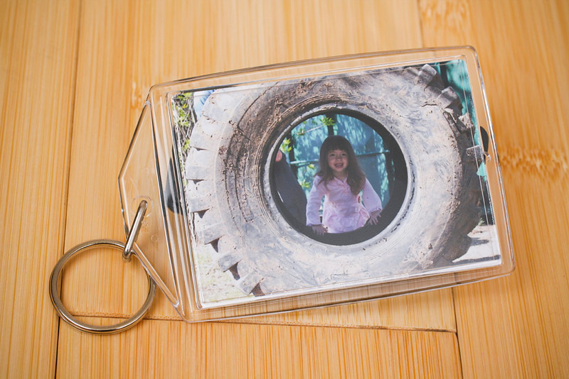 Keychain:  Take your images with you anywhere, provided you have your keys!  Print measures 2x3.