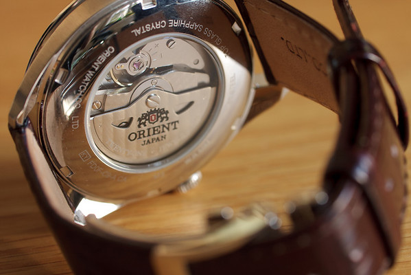 The Orient Calibre 46N45 watch movement
