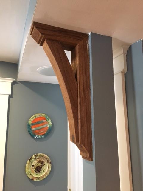 Interior usage of Wood Bracket 08T3