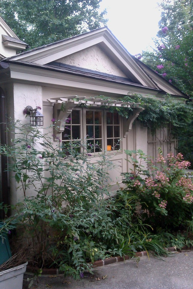 Pergola Over Window Wooden Bracket 14T5
