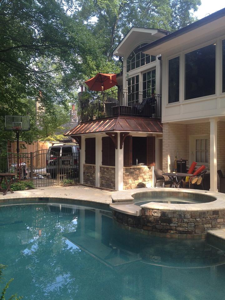 Wood Bracket 10T2 - Pool House