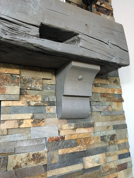 Fireplace Mantels with Wood Corbel 29T3