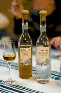 Herb and grape eaux de vie are distilled at the winery, Doniene Gorrondona in the Spanish Basque country.