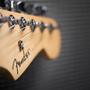 Fender Stratocaster and Mustang Amp