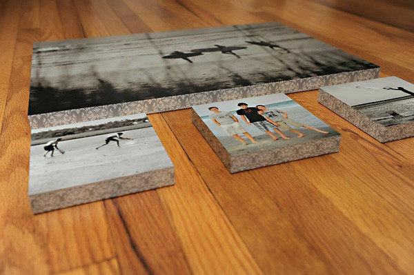 Gallery Blocks - prints laminated over a solid wood box...ready to hang. These are a favorite!