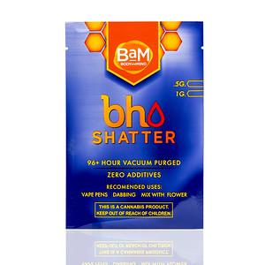 BAM bho Shatter Custom Packaging