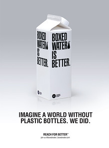 Boxed Water Magazine Ads
