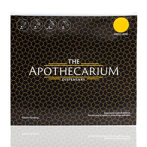 Apothecarium (BLACK) Medium Pinch Style Exit Bags Custom Packaging