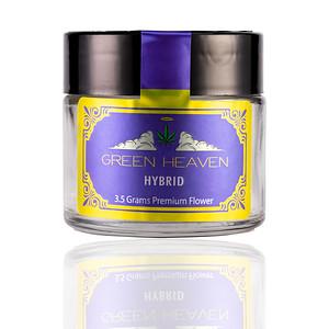 3OZ CR GLASS GREEN HEAVEN HYBRID