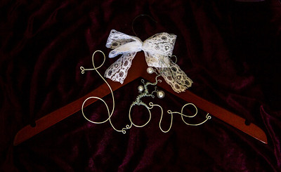 Love Tree Collection Wedding Hangers.  Completely custom.