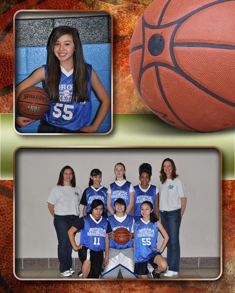 238 - Basketball Team Memory Mate