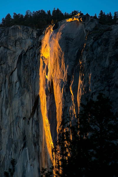 Yosemite National Park- Firefall-1