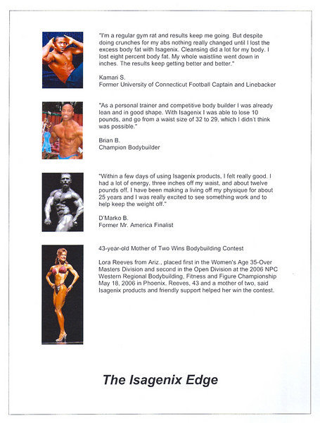 "Click onto image and select IMAGE size X3 for Larger Full Screen View of Page.  For More information or to join our Team go to these links:  <a href=""http://Jim.Wilson.isagenix.com/us/en/home"">http://Jim.Wilson.isagenix.com/us/en/home</a>.  <a href=""http://Jim.Wilson.isagenix.com/us/en/signup.dhtml"">http://Jim.Wilson.isagenix.com/us/en/signup.dhtml</a> ."