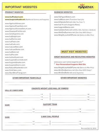 Useful Isagenix Independent Associate Forms Bocadigital