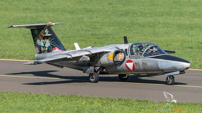 Austrian Air Force 3rd Squadron / Saab 105OE / RE-25 / Tigermeet Livery