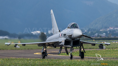 Austrian Air Force 1st Squadron / Eurofighter Typhoon / 7L-WE