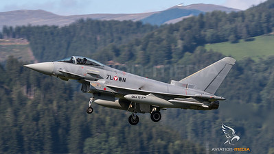 Austrian Air Force 1st Squadron / Eurofighter Typhoon / 7L-WN