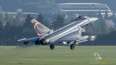 Austrian Air Force 1st Squadron / Eurofighter Typhoon / 7L-WB / Special Livery