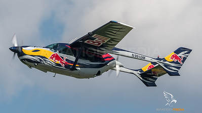 Flying Bulls / Cessna 337 Skymaster / N997DM / Red Bull Livery