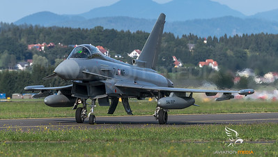 Austrian Air Force 1st Squadron / Eurofighter Typhoon / 7L-WF