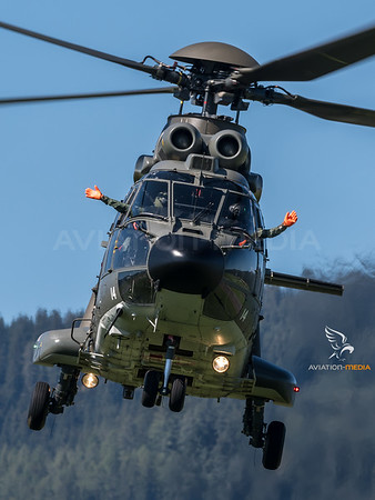 Swiss Air Force / Aerospatiale AS 332M-1 Super Puma / T-314