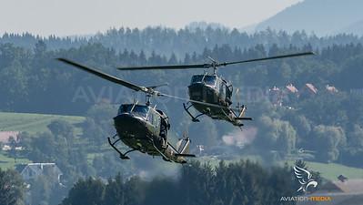 Austrian Air Force / Agusta Bell AB-212 / 5D-HR & 5D-HP