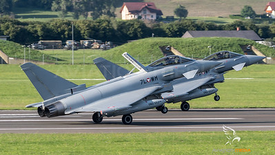 Austrian Air Force 1st Squadron / Eurofighter Typhoon / 7L-WM & 7L-WF
