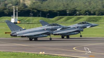 Austrian Air Force 1st Squadron / Eurofighter Typhoon / 7L-WM & 7L-WF