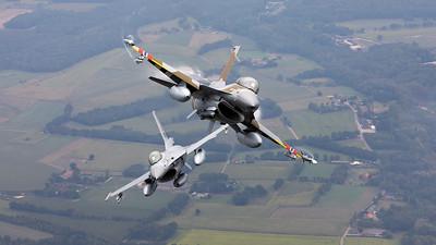 Sebastian - 16.09.2019: 691 & 675 | Norway - Air Force | General Dynamics F-16BM Fighting Falcon | Inflight, Belgium