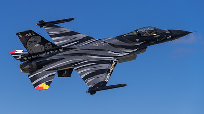 FLorian, BAF, F-16 Dark Falcon, Orange Departure Day