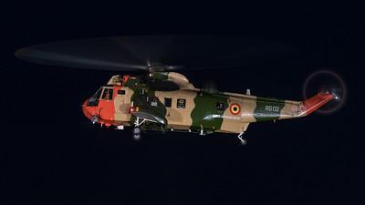 Florian, BAF, SH-3 Seaking, flyout in Koksijde