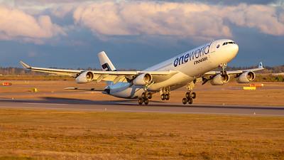 Sebastian - 20.10.2015: OH-LQE | Finnair | Airbus A340-313 | EFHK