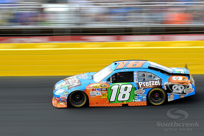 29 May 2010: Kyle Busch in the M&M's Toyota at Charlotte Motor Speedway in Concord, North Carolina. Mandatory Credit: Marty Bingham / Southcreek Global