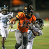 New Hanover's Javeon Hill runs for a touchdown against South Brunswick High at Legion Stadium in Wilmington, N.C. Friday,November 4, 2016. Alan Morris / Star News