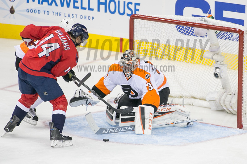 NHL: APR 16 Round 1 - Game 2 - Flyers at Capitals