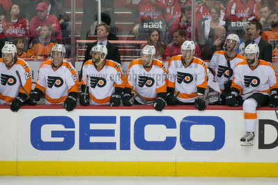 Philadelphia Flyers vs Washington Capitals (round 1 game 2)