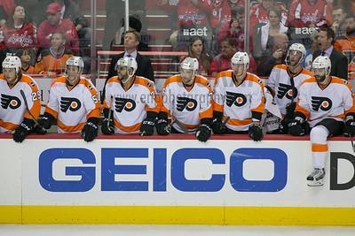 Philadelphia Flyers vs Washington Capitals (round 1 game 2)